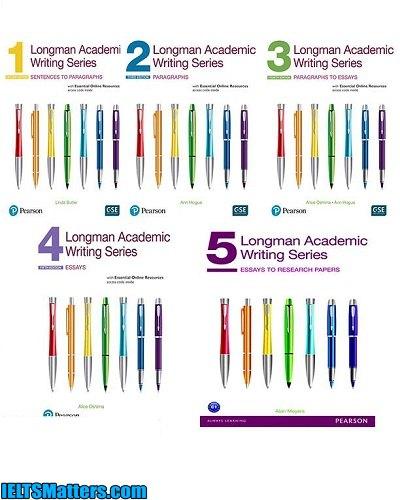 دانلود رایگان مجموعه کتابهای Longman Academic Writing Series New Edition 1-5