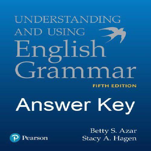 پاسخ تمرین و راهنمای تدریس کتاب English Grammar تالیف Betty Azar