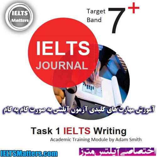 دانلود مجموعه رایتینگ تسک 1 آیلتس ژورنال- IELTS Journal Task1 Academic
