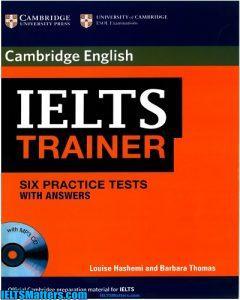 دانلود رایگان کتاب Cambridge English IELTS Trainer -کیفیت بالا