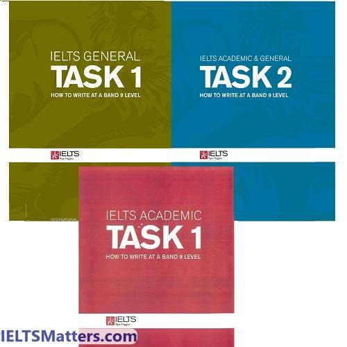 دانلود کتاب های رایتینگ رایان- Ryan Higgins Writing Task1&2