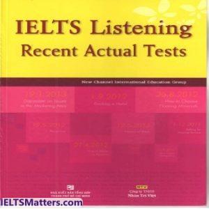 دانلود مجموعه کامل کتاب های اکچوال لیسنینگ-IELTS Listening Recent Actual Tests