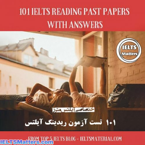 دانلود کتاب 101IELTS Reading Past Papers With Answers