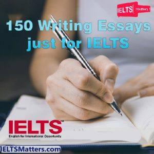 دانلود مجموعه 150IELTS Writing Essys