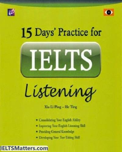 دانلود رایگان 15Days Practice For IELTS Listening