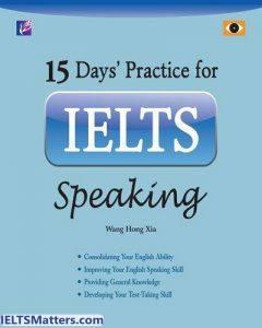 دانلود رایگان کتاب 15Days Practice for IELTS Speaking