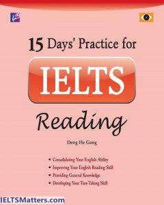 دانلود رایگان کتاب 15Days Practice for IELTS Reading