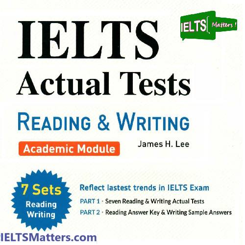 دانلود کتاب IELTS Actual Tests-Reading and Writing
