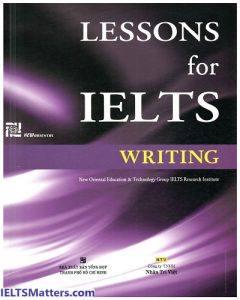 دانلود رایگان کتاب Lessons for IELTS Writing