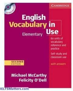 دانلود رایگان کتاب English Vocabulary in Use Elementray