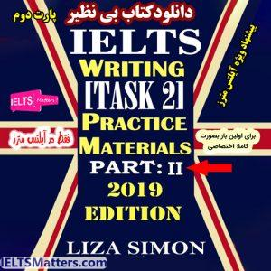 دانلود کتاب IELTS Writing Task 2 Part 2 by Liza Simon