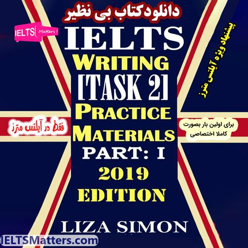 دانلود کتاب IELTS Writing Task 2 Part 1 by Liza Simon