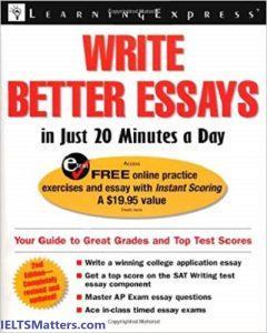 دانلود رایگان کتاب Write Better Essays in Just 20 Minutes a Day