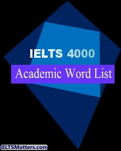 دانلود رایگان کتاب IELTS 4000 Academic Word List