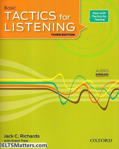 دانلود ویرایش سوم کتاب Basic Tactics for Listening