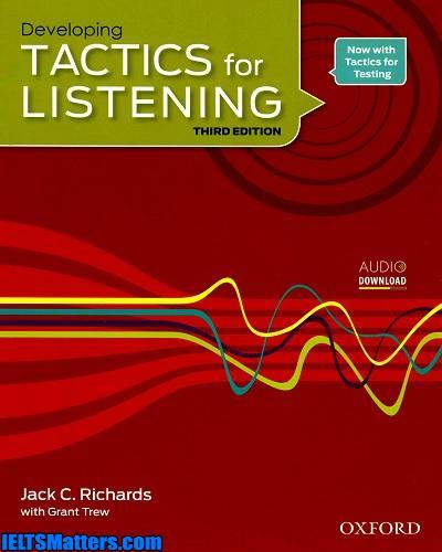 دانلود رایگان ویرایش سوم کتاب Developing Tactics for Listening