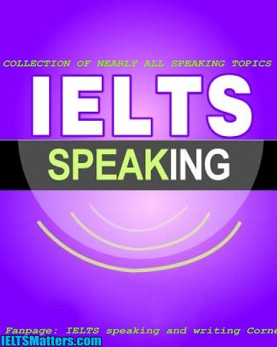دانلود رایگان کتاب IELTS Speaking Topics Collection