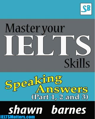 دانلود رایگان کتاب Master your IELTS Skills-Speaking Answers -Part 1,2 and 3