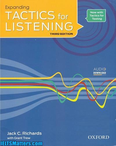 دانلود رایگان ویرایش سوم کتاب های Expanding Tactics for Listening