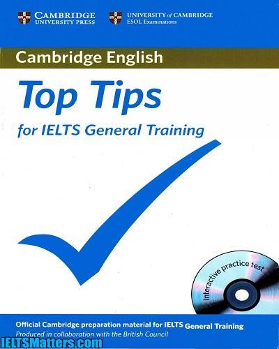 دانلود رایگان کتاب Cambridge English Top Tips for IELTS General