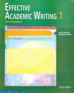 دانلود رایگان کتاب Effective Academic Writing 1- The Paragraph