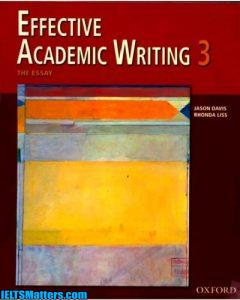 دانلود رایگان کتاب Effective Academic Writing 3- The Essay