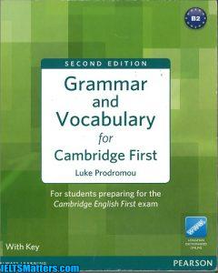 دانلود رایگان کتاب Grammar and Vocabulary for Cambridge First