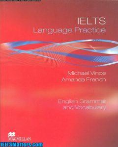 دانلود رایگان کتاب IELTS Language Practice-English Grammar and Vocabulary