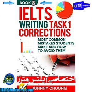 دانلود کتاب هشتم IELTS Writing Task 1 Correction- Book 8