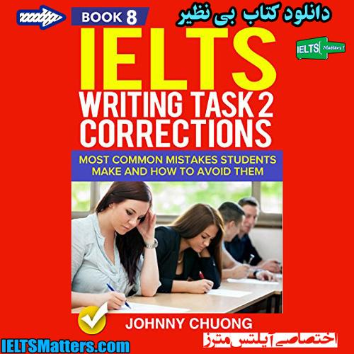 دانلود کتاب هشتم IELTS Writing Task 1 Correction-Book 8