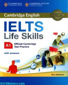 دانلود رایگان کتاب Cambridge English IELTS Life Skills A1
