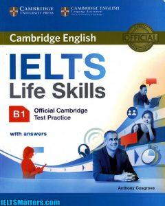 دانلود رایگان کتاب Cambridge English IELTS Life Skills B1