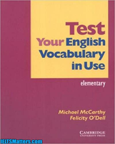 دانلود رایگان کتاب Test Your English Vocabulary in Use-Elementary