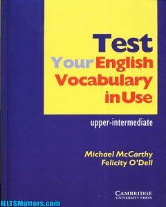 دانلود رایگان کتاب Test your English Vocabulary in Use-Upper-Intermediate