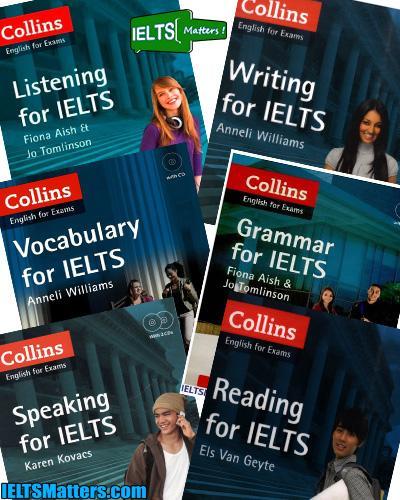 دانلود رایگان مجموعه کامل Collins series برای آزمون آیلتس