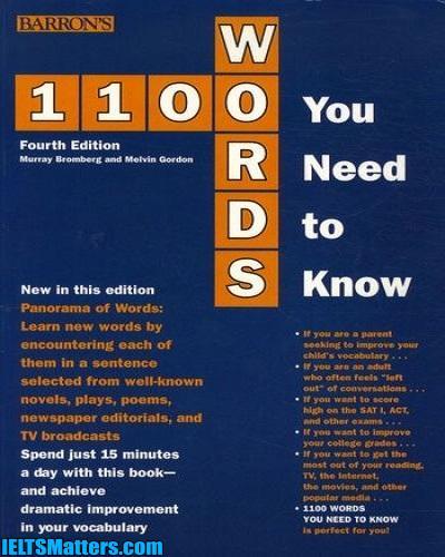 دانلود رایگان کتاب 1100Words You Need to Know