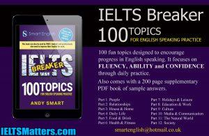 دانلود کتاب IELTS Breaker: 100 topics for English Speaking Practice