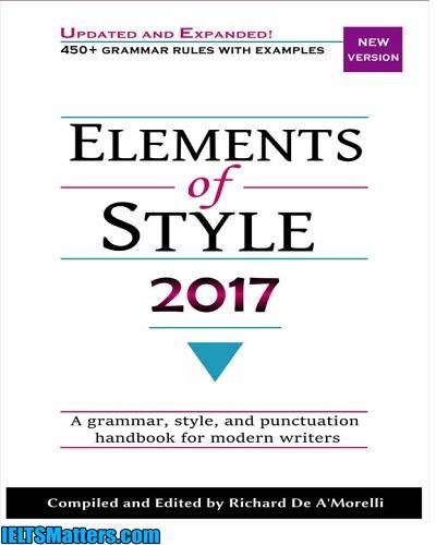 دانلود رایگان کتاب Elements of Style 2017