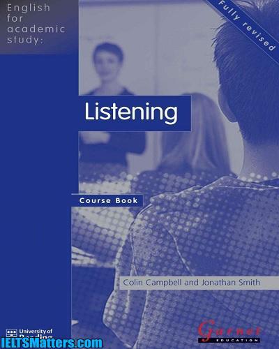 دانلود رایگان کتاب English for Academic Study-Listening Course Book 2nd Edition