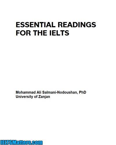 دانلود رایگان کتاب Essential Reading for IELTS