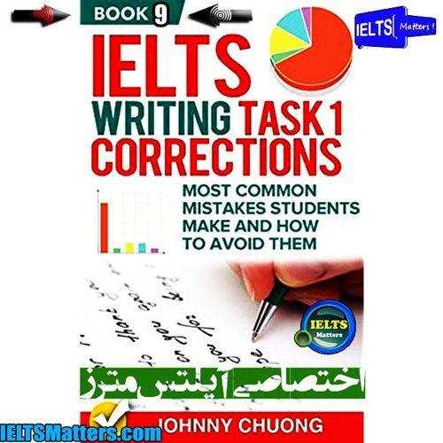 دانلود کتاب نهم IELTS Writing Task 1 Correction- Book 9