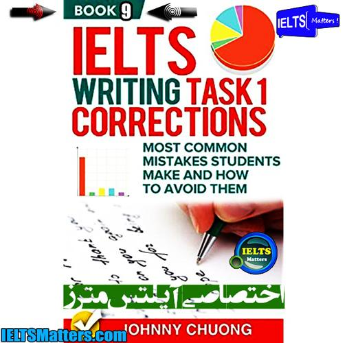 دانلود کتاب نهم IELTS Writing Task 1 Correction- Book 9