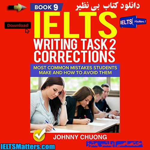 دانلود کتاب نهم IELTS Writing Task 2 Correction-Book 9