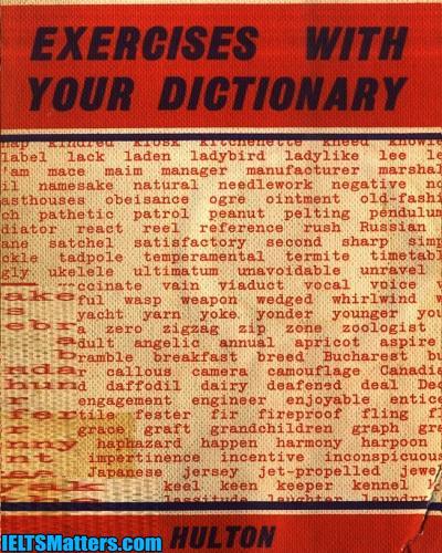 دانلود رایگان کتاب Exercises with your dictionary