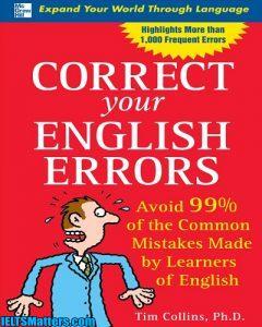 دانلود رایگان کتاب Correct Your English Errors-99% of the Common Mistakes