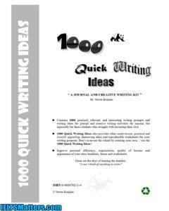 دانلود رایگان کتاب 1000Quick Writing Ideas