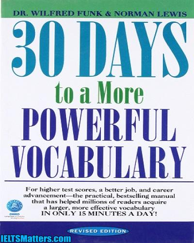 دانلود رایگان کتاب 30Days to a More Powerful Vocabulary