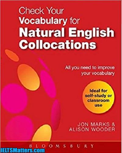 دانلود رایگان کتاب Check Your Vocabulary for Natural English Collocation