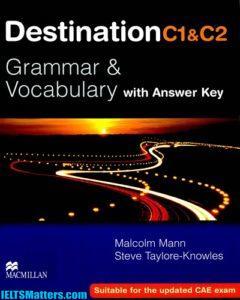 دانلود رایگان کتاب آموزش گرامر و لغات Destination Grammar and Vocabulary C1 & C2