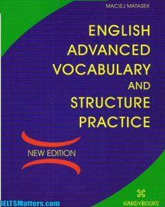 دانلود رایگان کتاب English Advanced Vocabulary and Structure Practice